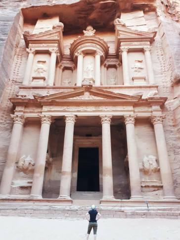 Le Trésor de Petra, Jordanie