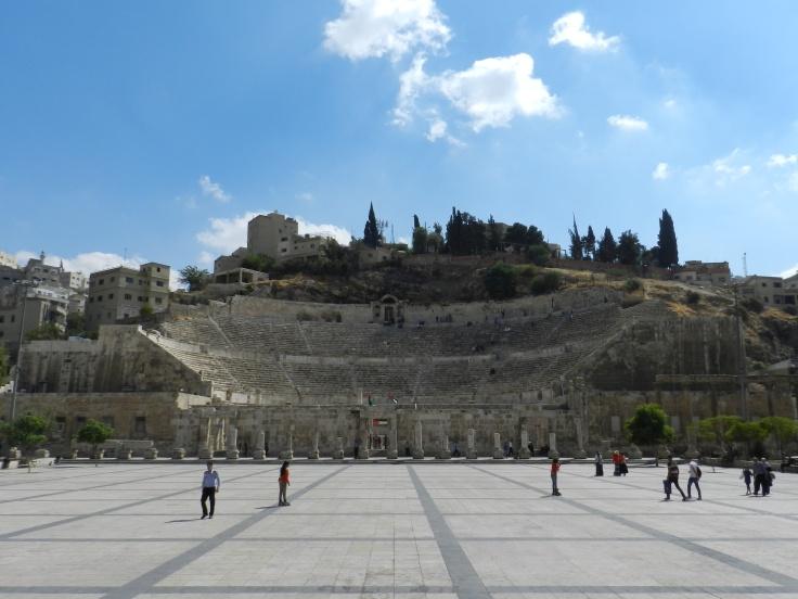 Théâtre romain à Amman, Jordanie