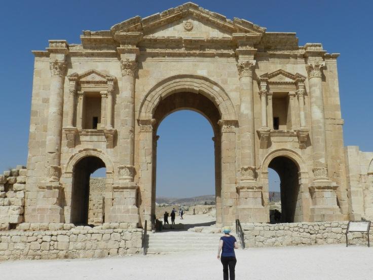 Arche d'Hadrien, Jerash, Jordanie