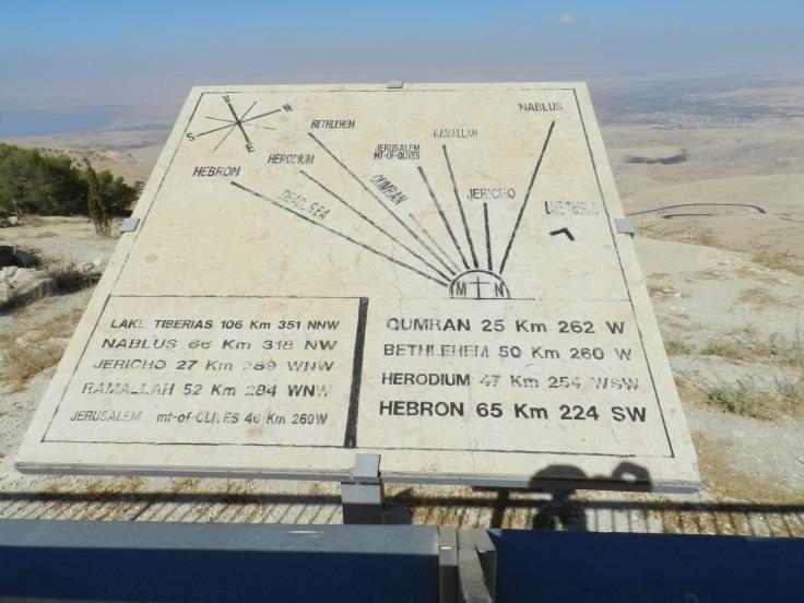 Mont Nebo, Jordanie