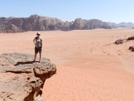 Désert du Wadi Rum, Jordanie.