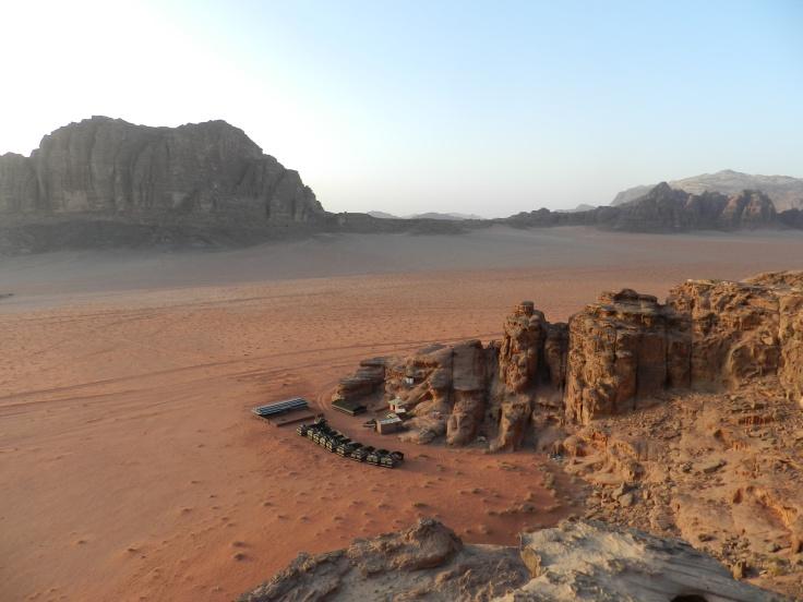 Campement désert de Wadi Rum, Jordanie