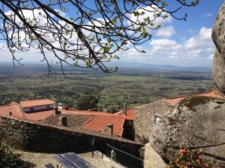Terrasse du Petiscos e Granitos à Monsanto