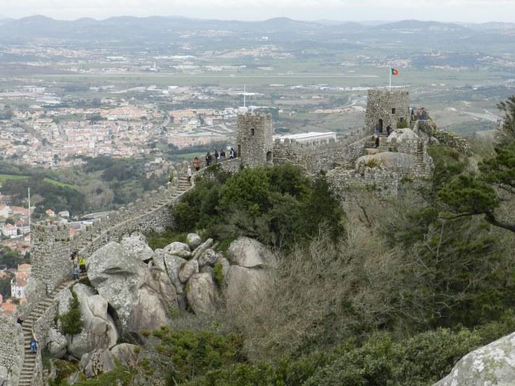 Château des Maures, Sintra, Portugal