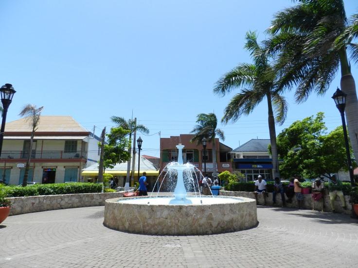 La ville de Falmouth, Jamaïque