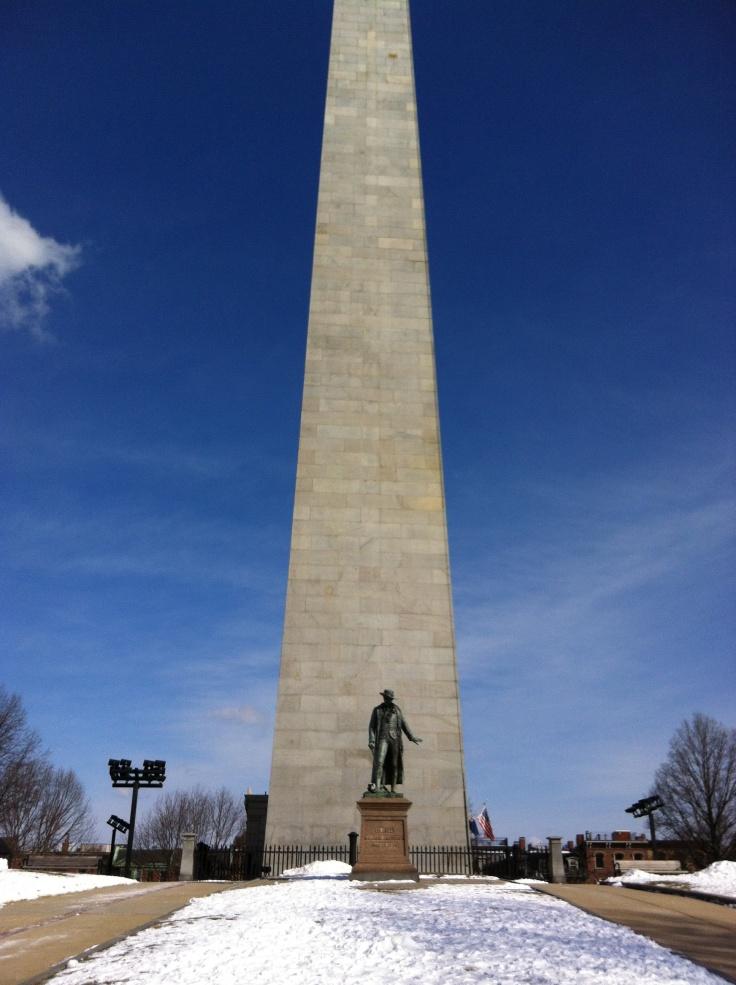 Bunker Hill Monument, Boston, États-Unis