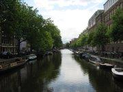 Vue sur un canal, Amsterdam