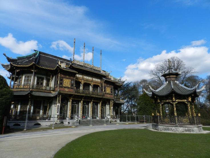 Pavillon chinois à Bruxelles, Belgique