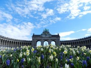 Parc du Cinquantenaire à Bruxelles - Belgique