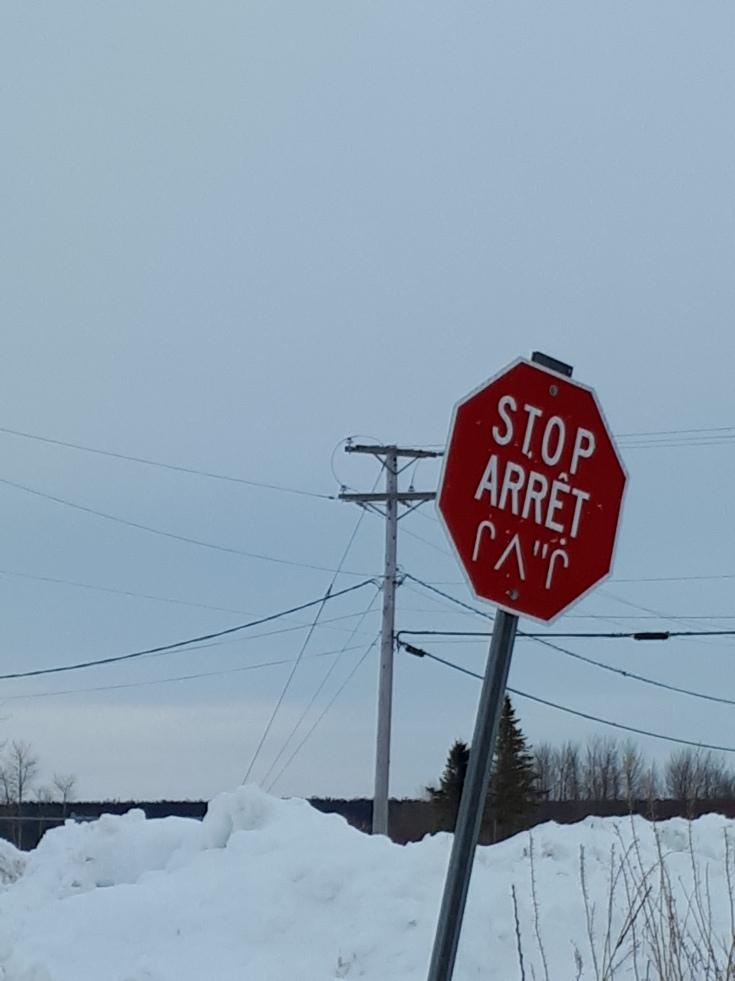 Stop Arrêt Waskaganish