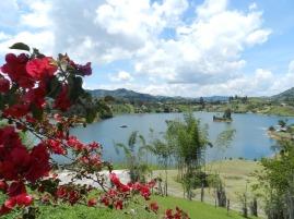 Vue depuis La Manuela, propriété de Pablo Escobar - Colombie