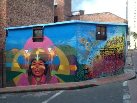 Street art à Bogotá - Colombie
